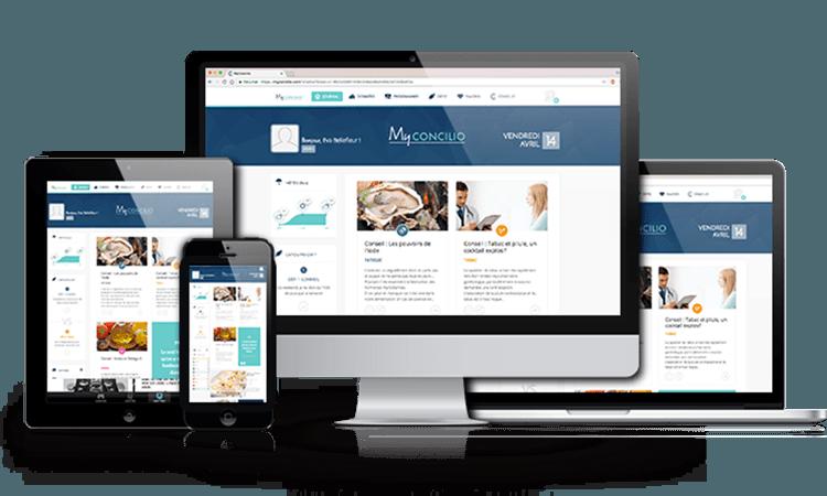 application site web concilio