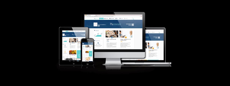 site web application concilio